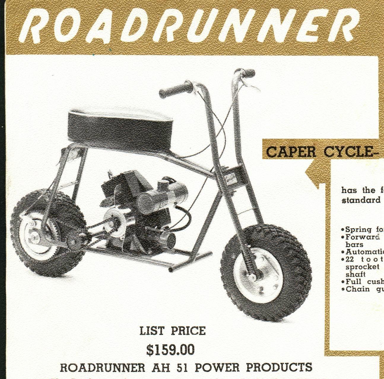 Vintage 1960 Go-Kart Big Bear Scrambler Mini-Bike Catalog Parts /& Price List