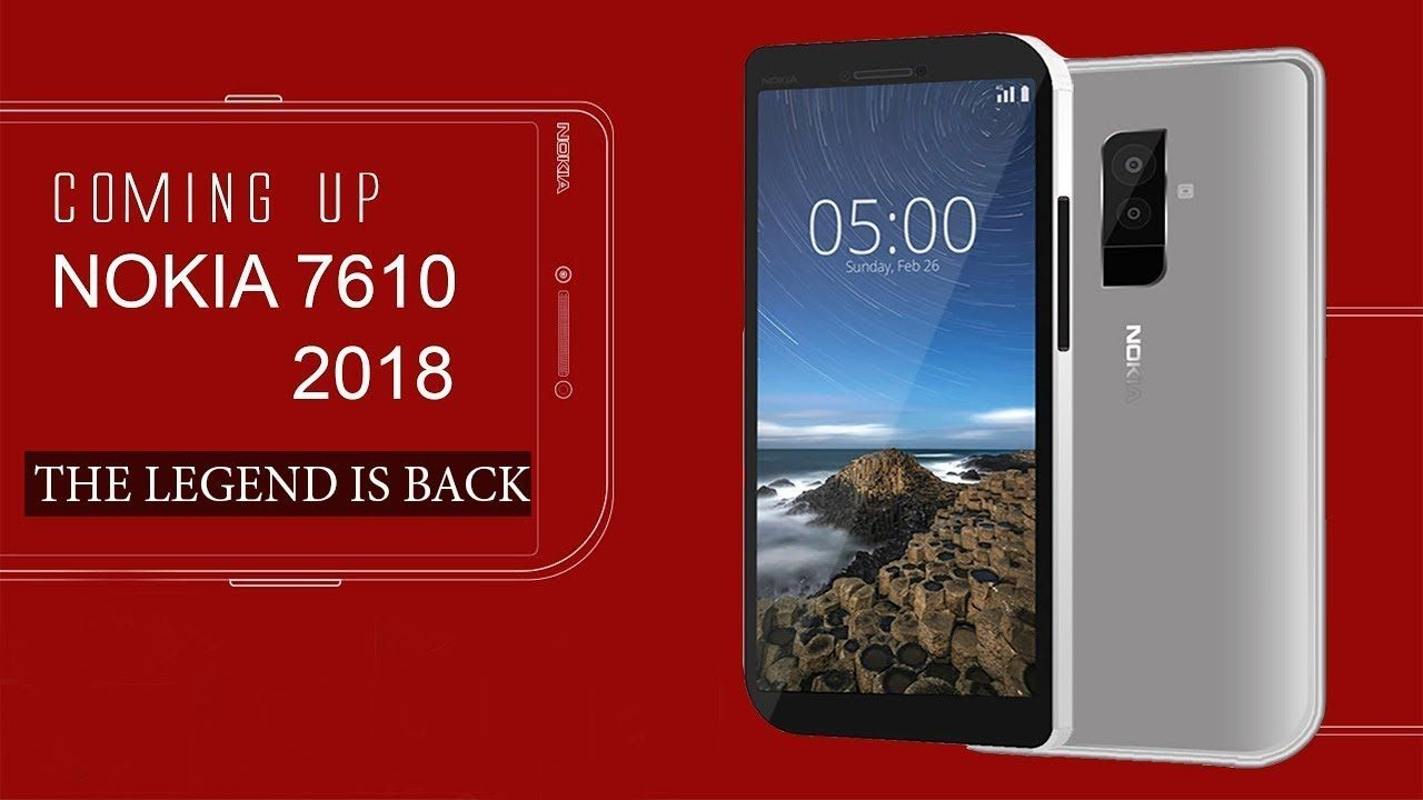 Nokia 7610 Concept Edition 2018- The Legend is Back