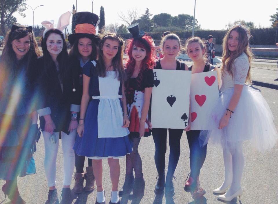 Déguisements · Carnaval lycée 2014