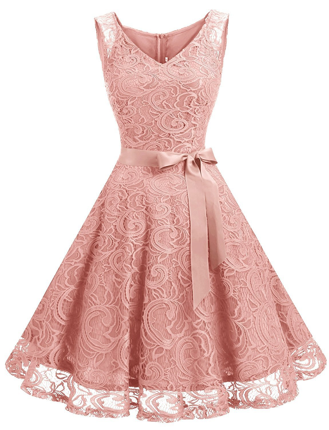 ad5b0d10c31bef This elegant short dress features a sleeveless v-neckline.This dress is  perfect for casual or any special occasion. Fabric   Lace Closure   Zipper  Back ...