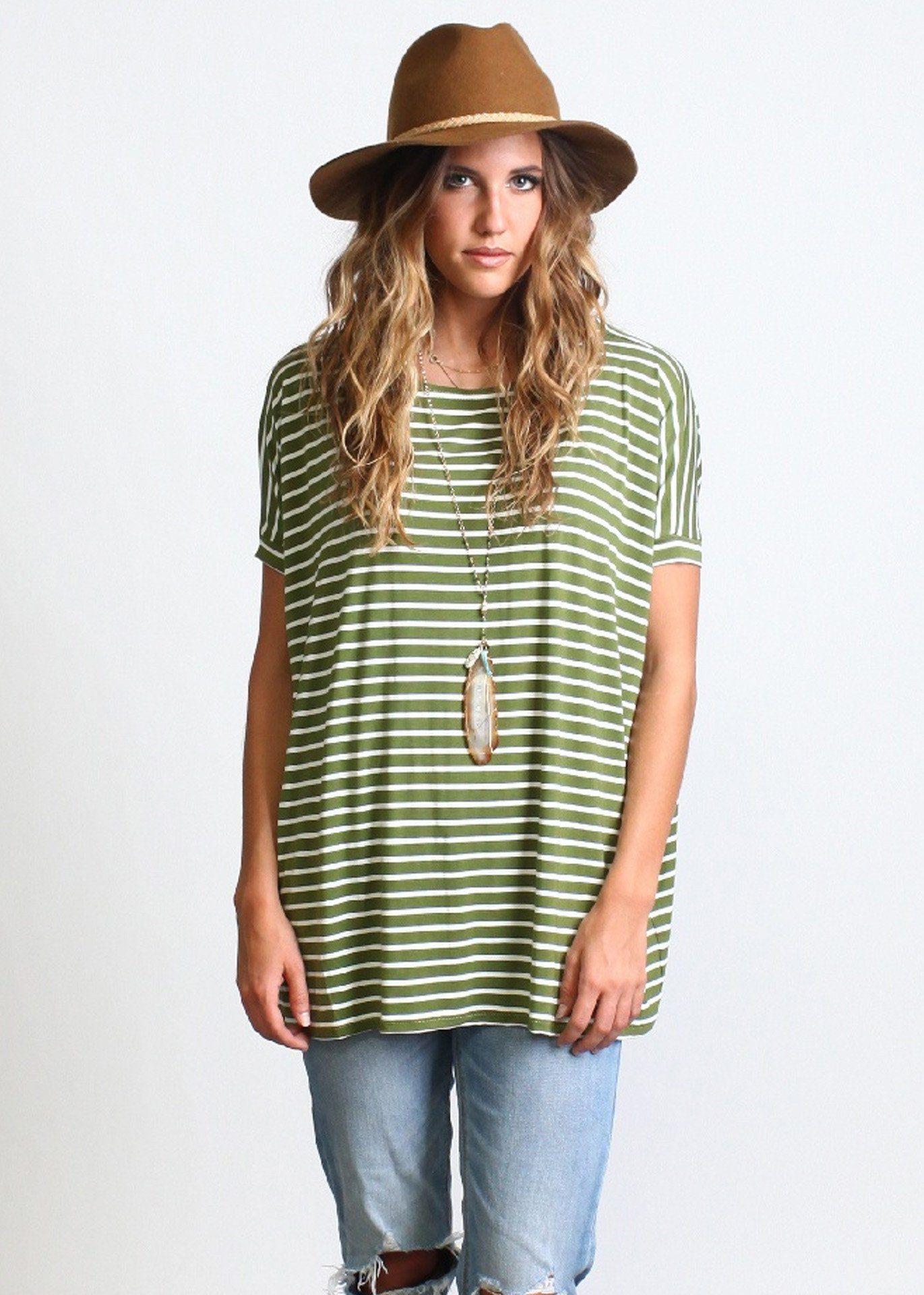 Original Short Sleeve Top - Bamboo & Organic Clothing - PIKO - 1