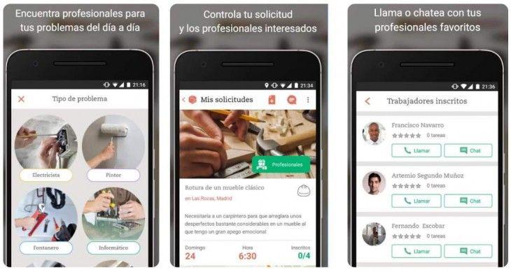Jobin Una App Que Nos Trae A Casa Un Fontanero Electricista Pintor En Menos De Una Hora Electricistas Trabajo Domestico Trajeron