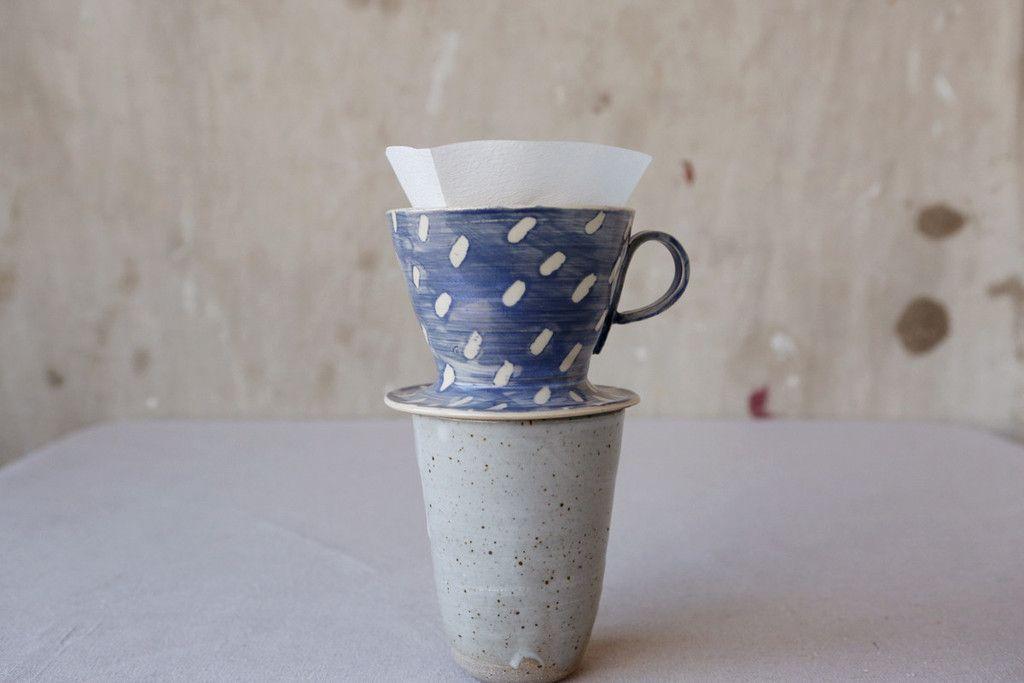 Pour Over Coffee Maker Ceramic : Ceramic Coffee Pour Over http://shop.alittlemorelikethis.com/products/ceramic-coffee-pour-over ...