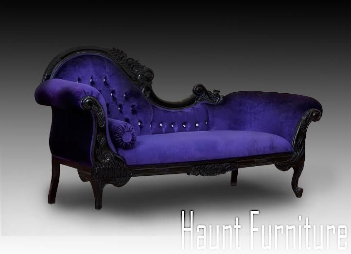 Mobili viola ~ Haunt furniture @hauntfurniture twitter gothic dream home