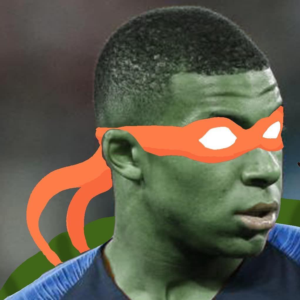 Mbappe Ninja Turtles