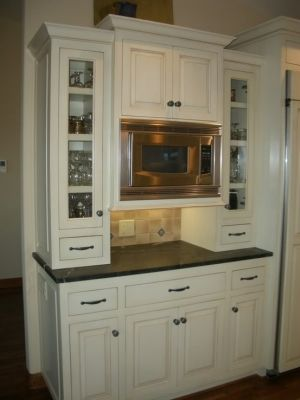Kitchen Islands With Built In Microwaves Built In