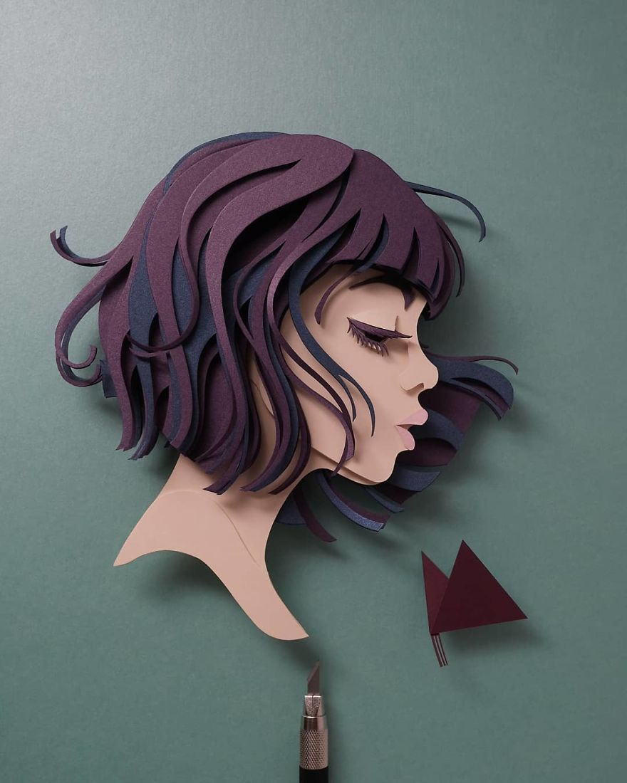 Artist Shows Off His Incredible Paper Work Skills By Recreating Famous Pop Culture Characters