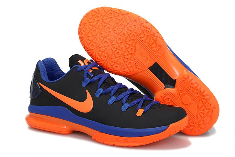 hot sale online 743d8 eec5a cheap KD 5 Elite Black Total Orange Royal Blue [New KD 5 Elite Black Total  Orange Royal Blue 0085] - $66.99 : lebronxlows.net sale|LeBron X LOW|LeB   ...