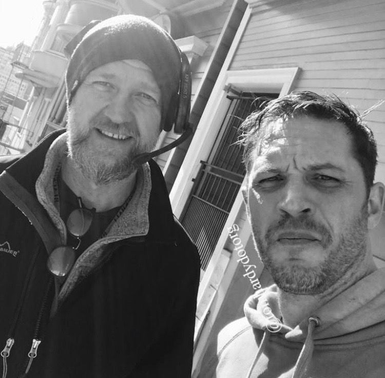 "#rp from @tomhardydotorg on 1-21-18. Captioned... ""Chris McGuire UK camera operator Legend ❤️ 2018 Manchester represent Northern class"""