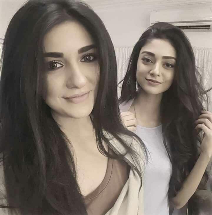 Beautiful sisters Sarah Khan and Noor Khan.