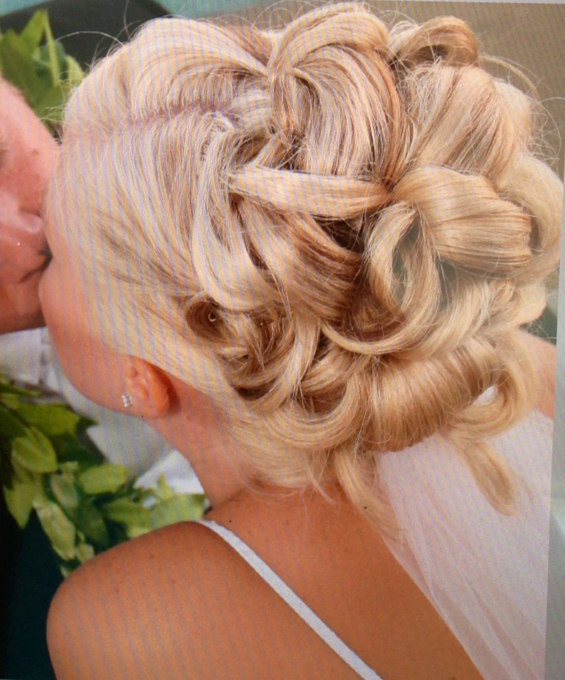 Back view of wedding hair up do wedding pinterest wedding and