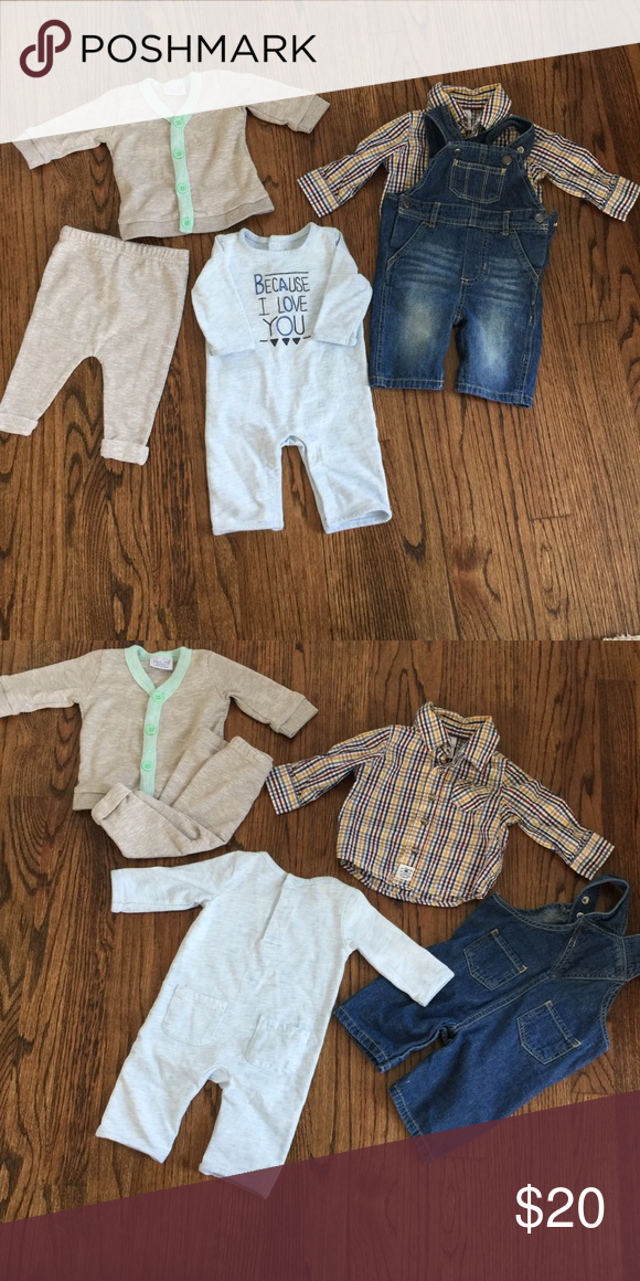 Boys Baby Outfits Gymboree Overalls And Clothes