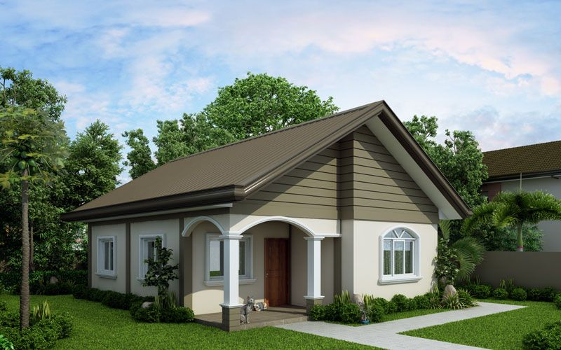 Cool Small House Simple House Design Inside And Outside