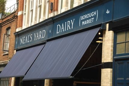 Neal's Yard Dairy cheeses. Big selection box every Christmas.