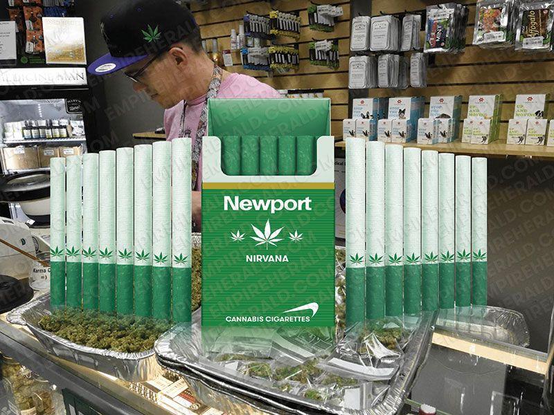 Newport Introduces Marijuana Cigarettes That Will Go On Sale