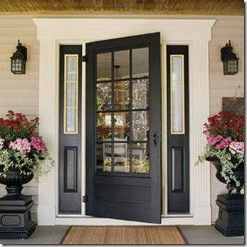 Paint The Sidelights Or Not Front Door Inspiration House