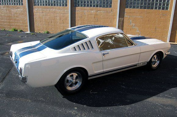 1965 ford mustang shelby gt350 fastback for sale rear