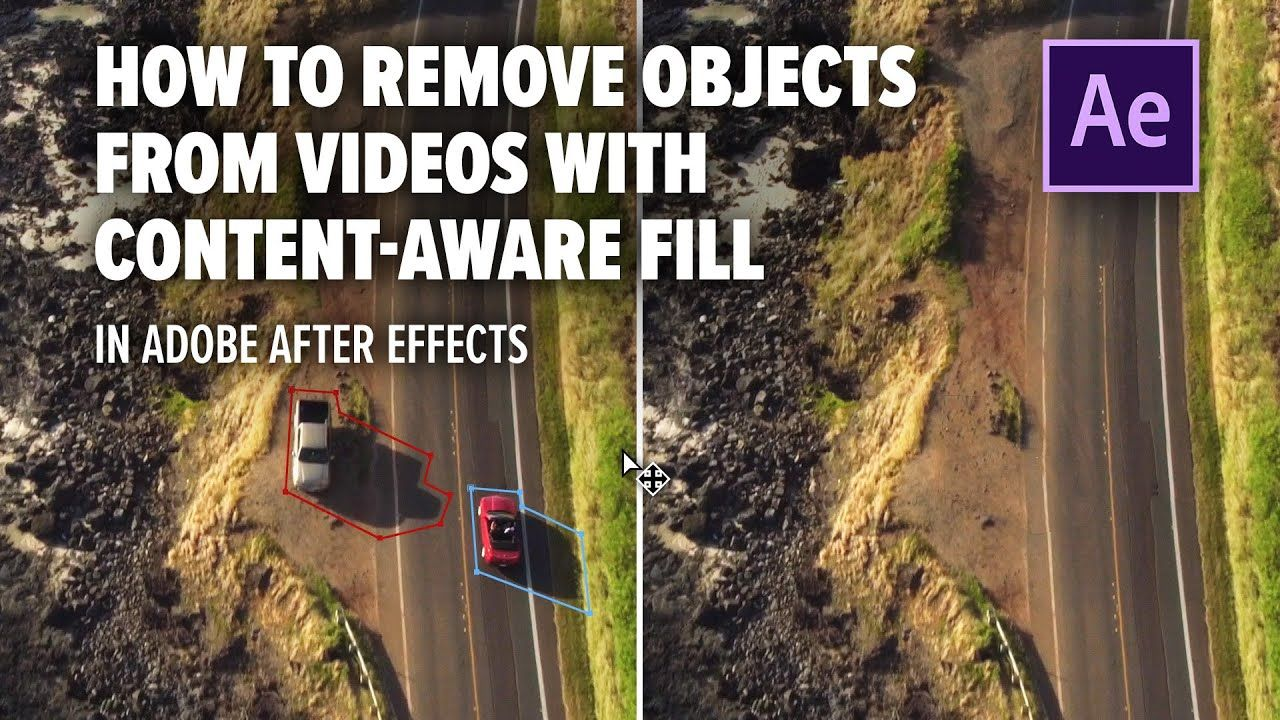 How to remove objects in videos with Content-Aware Fill in