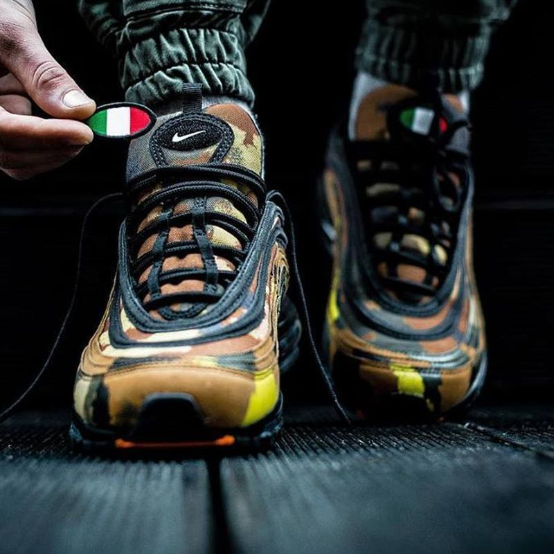 NIKE AIR MAX 97 Country Camo Pack Italy AJ2614 202 US Size