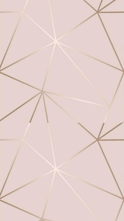 Photo of Zara Shimmer Metallic Wallpaper Soft Pink Rose Gold