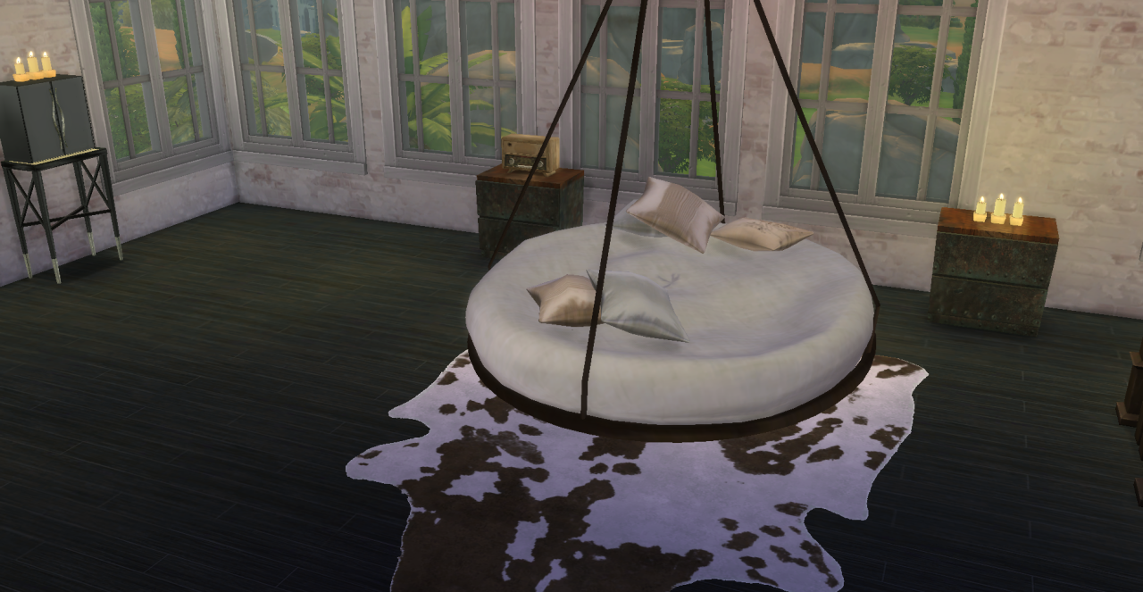 Circular Bed Sims 4 Circle Beds Google Search Sims 4 Objects Pinterest