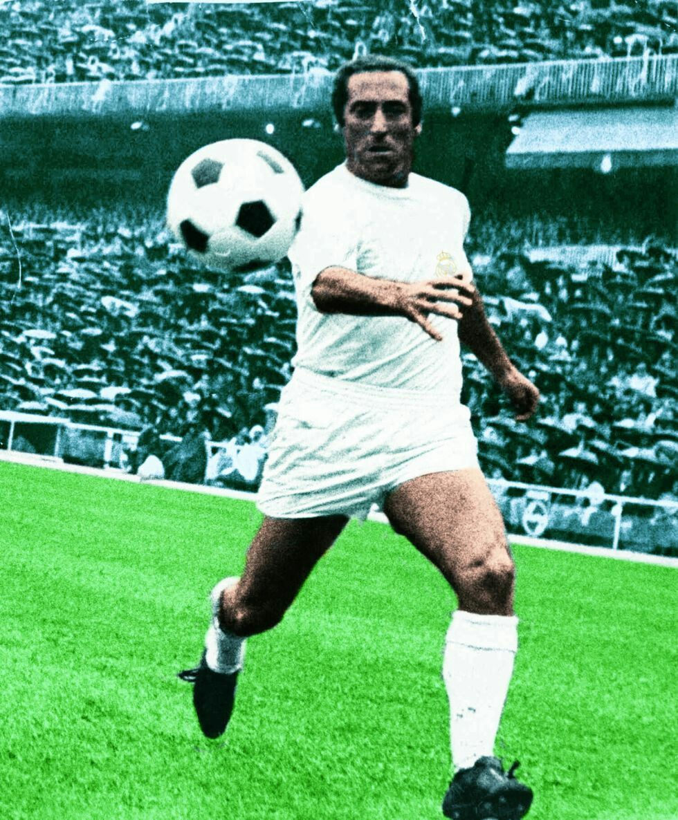 Francisco Gento of Real Madrid in 1965