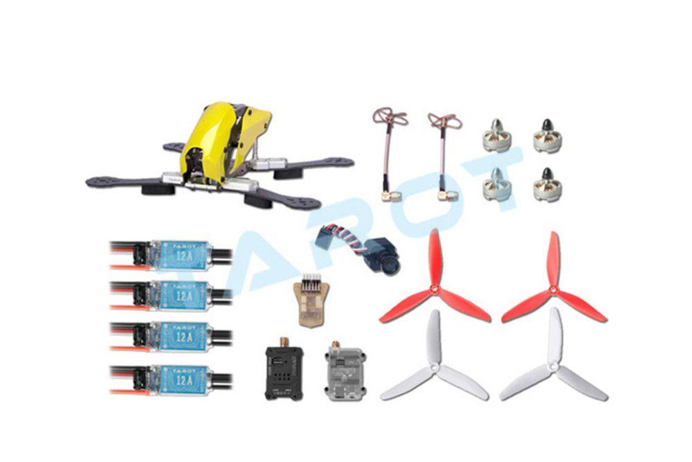 F16517 250 Through FPV Quadcopter Drone Combo Set Carbon Fiber Frame ...