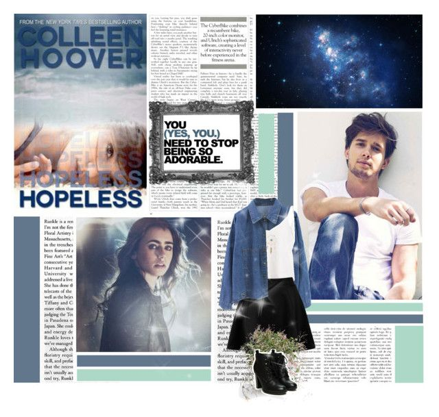 """""""Hopeless by Colleen Hoover"""" by taycristie ❤ liked on Polyvore"""