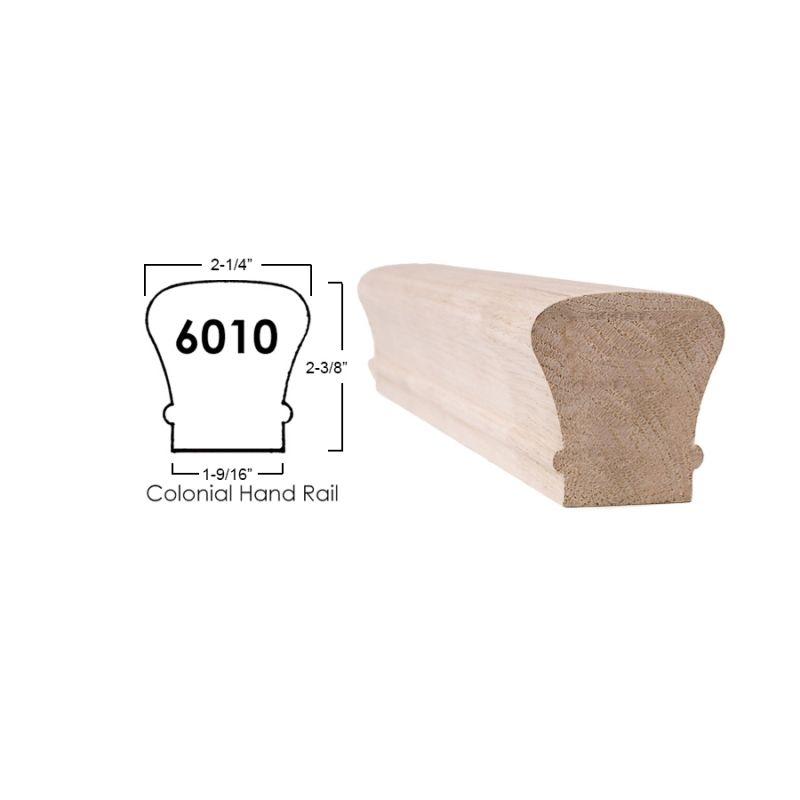 Best 6010 Straight Handrail – 8 Ft Wood Handrail Handrail 400 x 300