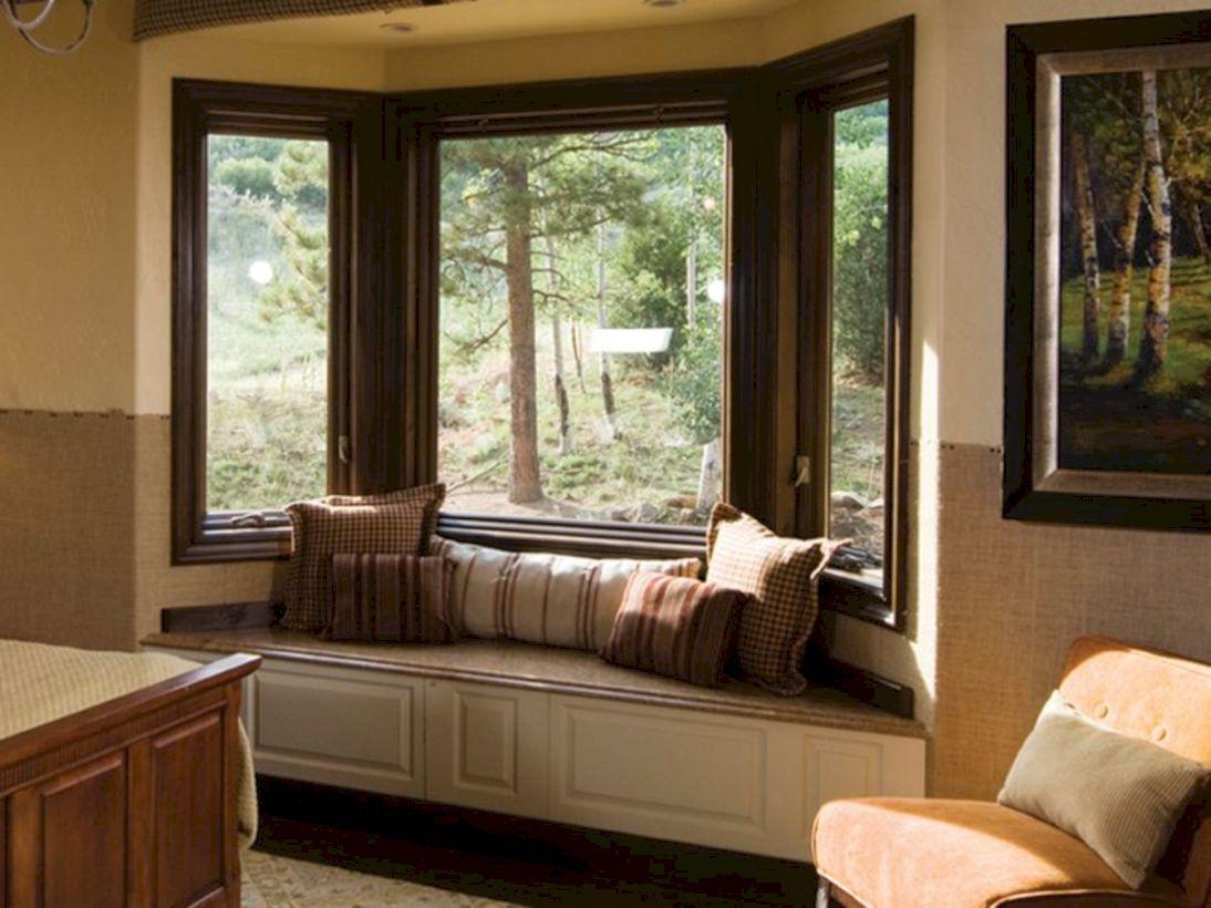 Window seat ideas living room   stunning victorian bay window seat with storage design