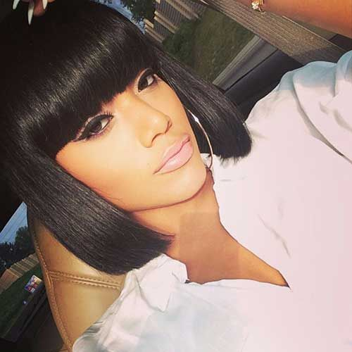 15 Bobs For Black Girls Bob Haircut And Hairstyle Ideas Bob Hairstyles Womens Hairstyles Human Hair Wigs
