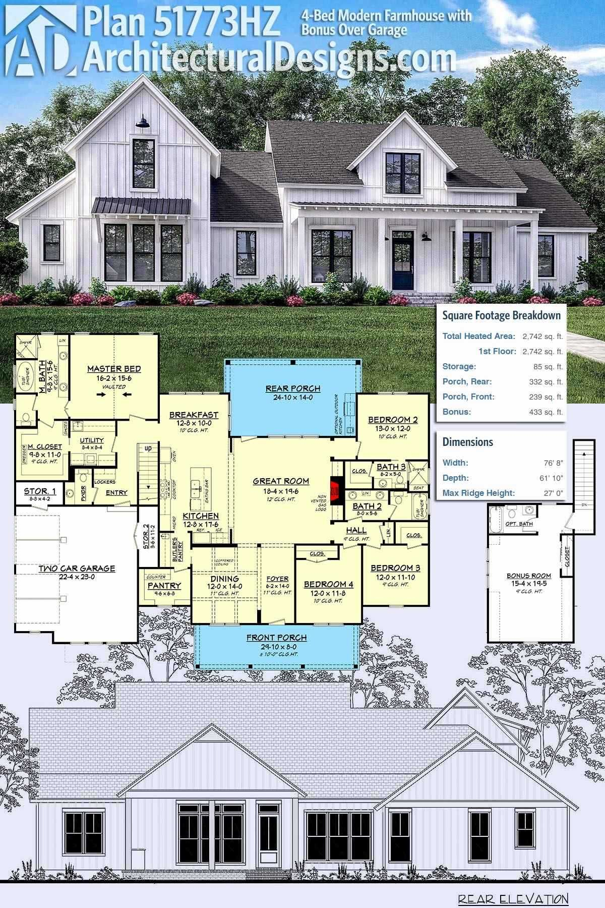 Single story small modern farmhouse plans awesome modern