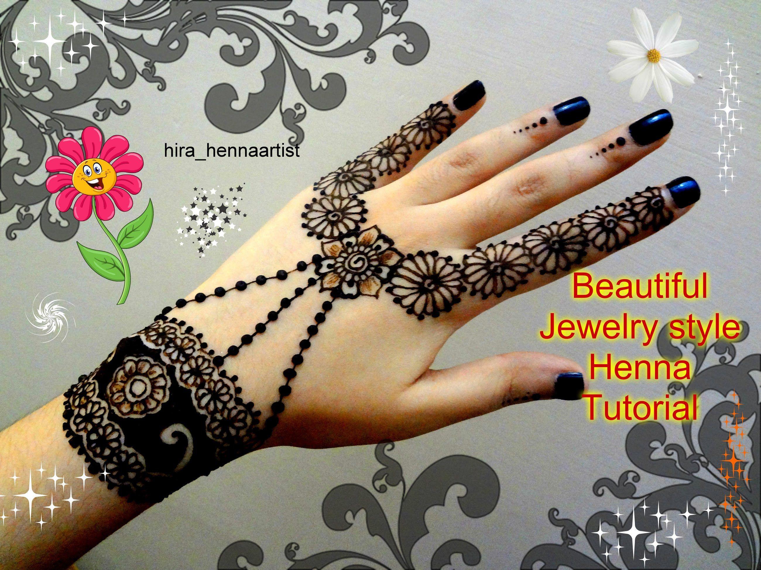 Party Mehndi Cone : Henna diy beautiful jewelry inspired mehndi tutorial for eid