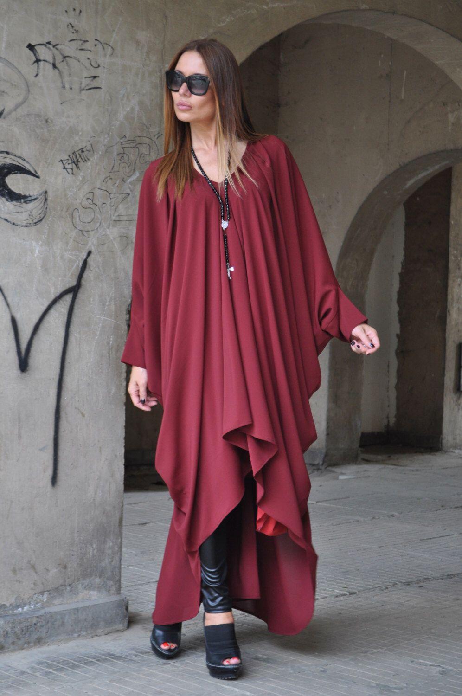 Marsala maxi dress burgundy maxi dress womens long dress daywear