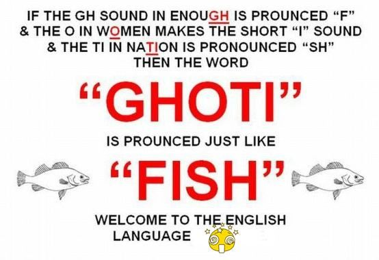 Crazy English Spelling And Pronunciation Funny Quotes Words Just For Laughs