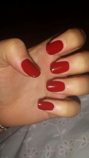 rounded acrylics rednails home ingnails acrylic in