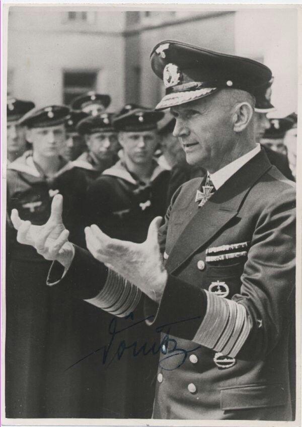 ✠ Karl Dönitz 16 September (1891 – 24 December 1980).