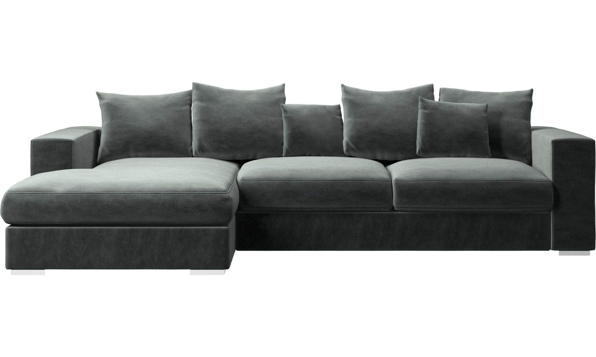 Cenova Sofa With Resting Unit Comfortable Sectional Sofa Chaise