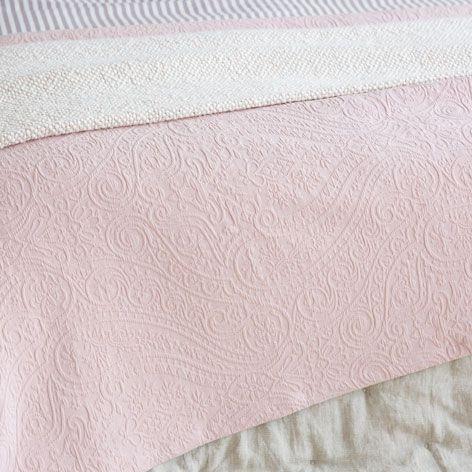 JACQUARD PAISLEY BEDSPREAD AND CUSHION COVER - Bedspreads - Bedroom | Zara Home United Kingdom