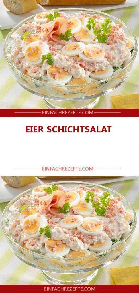 Photo of Eier Schicht Salat 😍 😍 😍