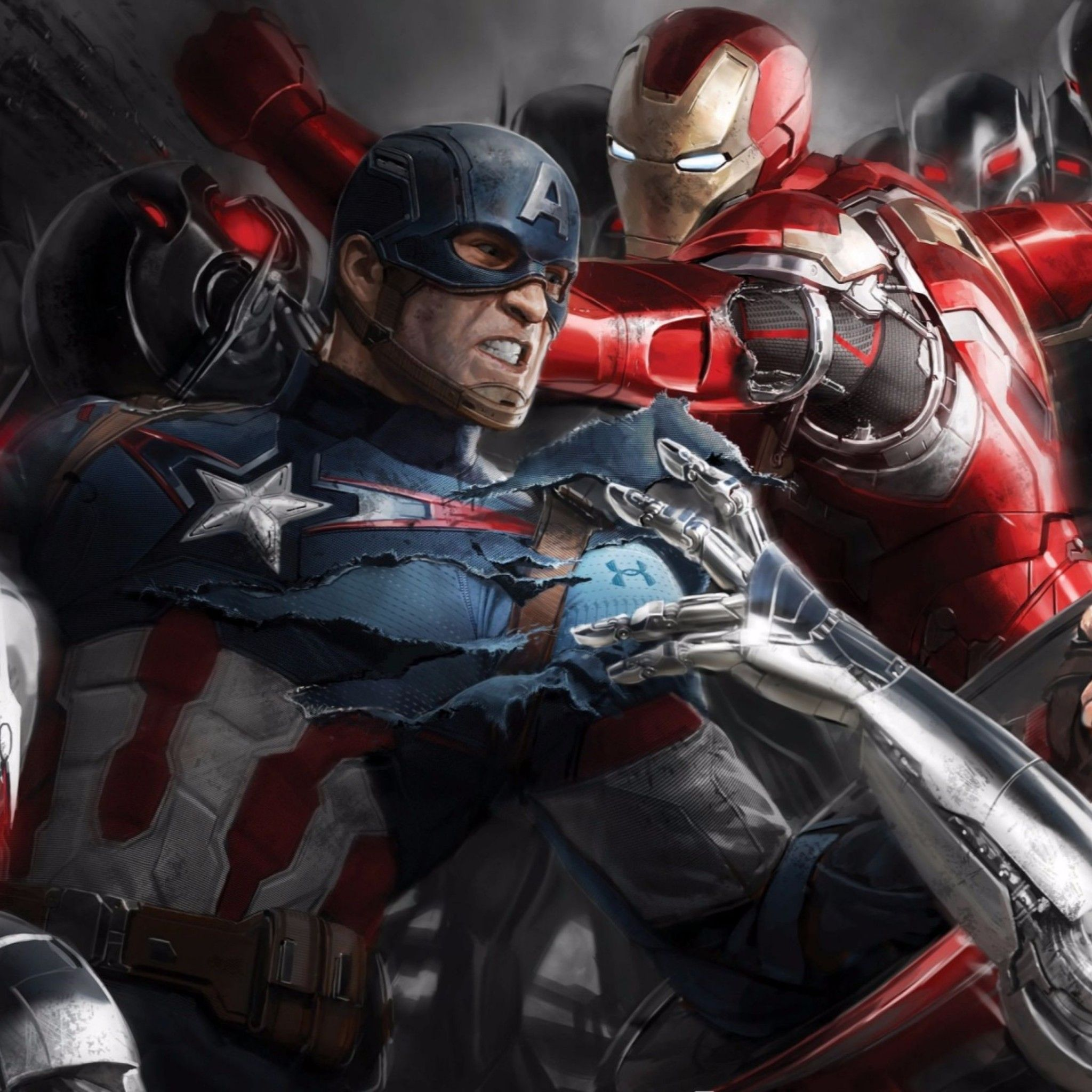 """Marvel Movie Civil Wallpapers """"Whose Side Are You On"""