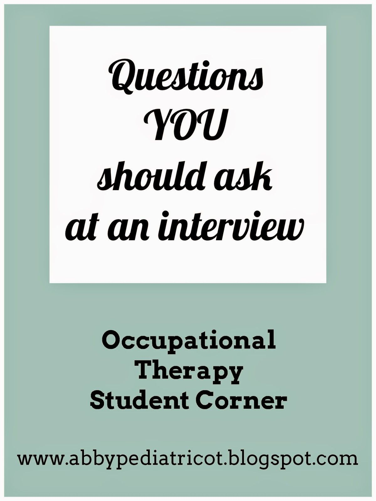 interviewing is more than just answering questions   you want to be prepared to ask qu