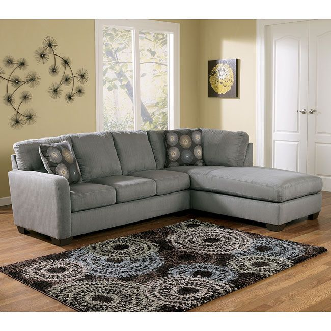 Ashley Furniture Cary Nc: Charcoal Right Facing Chaise Sectional