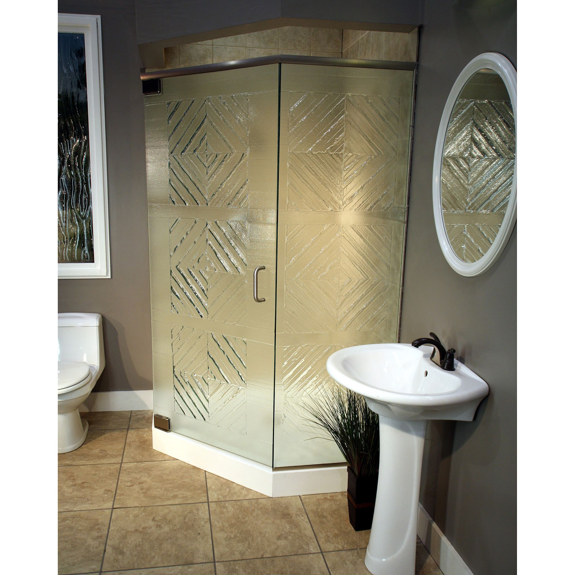 shower+stalls | Prefab shower stall cast cottage neo angle ...
