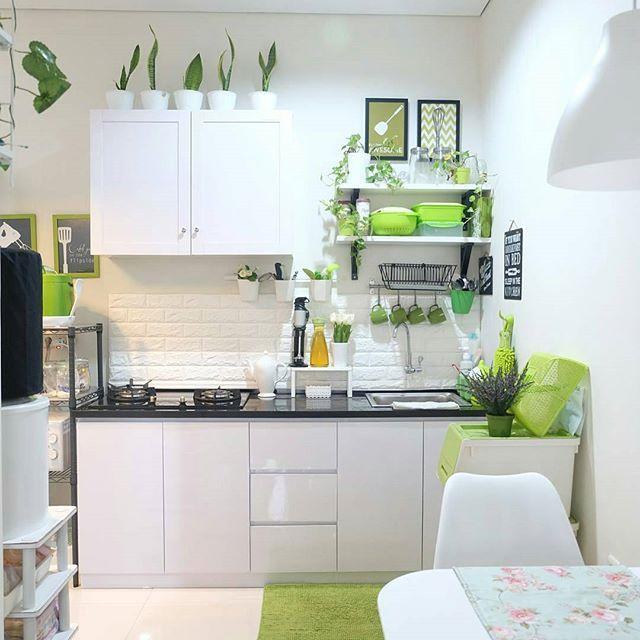 Inspirasi Dapur Dan Ruang Makan Credit To Nena Febrina Kamu Punya Inspirasi Design Interior Ekste Ide Dapur Dapur Kecil Dapur