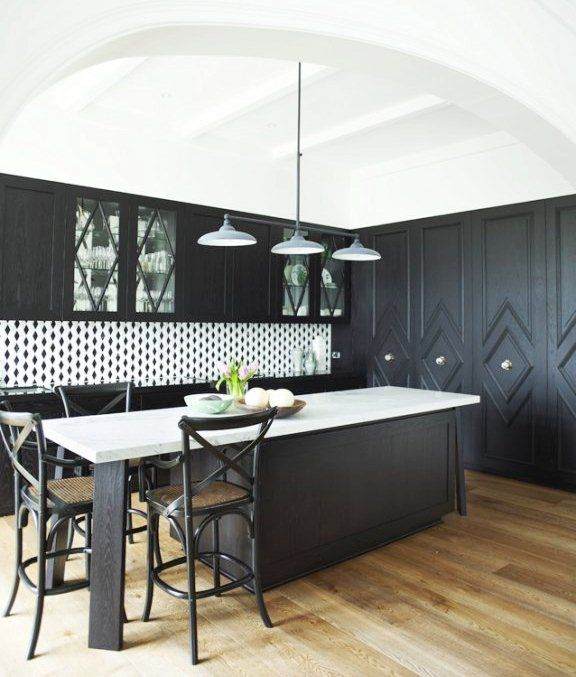 Dark Kitchen Cabinets With Light Countertops: THIS OR THAT: TWO SMALL KITCHENS MAKE BIG DESIGN