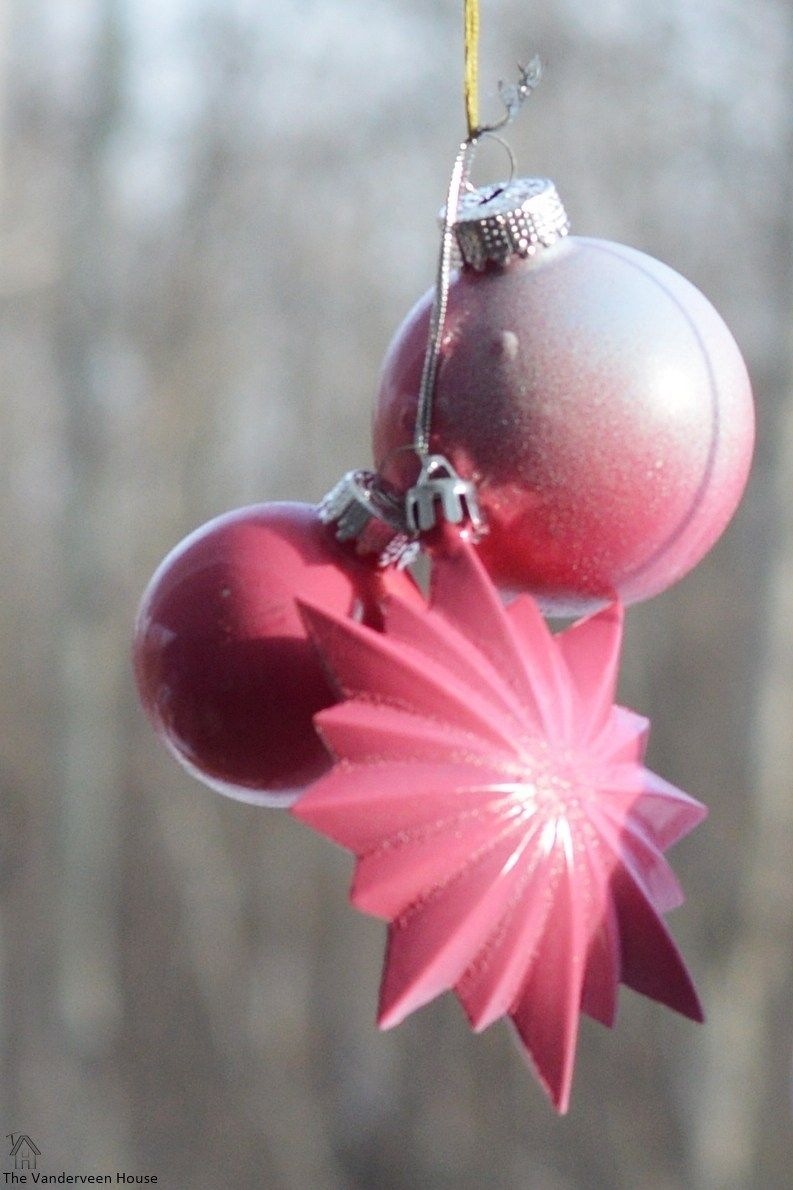 How To Spray Paint Christmas Ornaments Painted Christmas Ornaments Ornaments Christmas Tree Painting