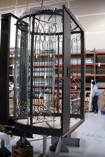 Birdcage Elevators From Artisan Elevators In 2019 Glass