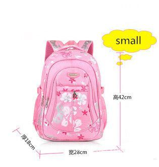 de3c44a1de Girl s Hot Fashion Print Large-Capacity Durable Quality Canvas Backpack 5  Colors 2 Sizes