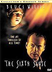 The Sixth Sense (Collector's Edition Series) By Bruce Willis (DVD) 717951004925   eBay
